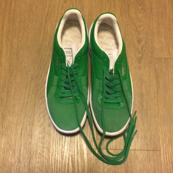 hot sale online 83409 0ad28 Puma GV Special green ... worn only 1-2 times ...